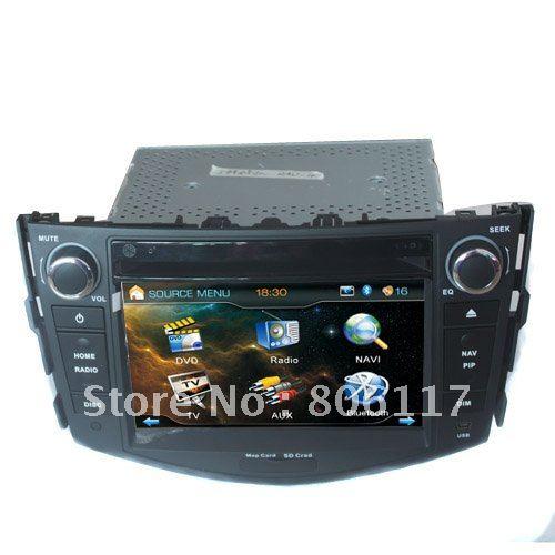 7 inch car dvd player DVD+AM/FM+SD/USB+IPOD+Analog TV+BT+3D UI with GPS(China (Mainland))