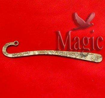 FREE SHIPPING 50 Bronze Tone Flower Fashion Cute Metal Bookmark Jewelry Making Findings 81x14mm