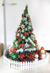 Market/hotel/square/piazza Christmas trees with LED 210cm length Christmas Deco(China (Mainland))