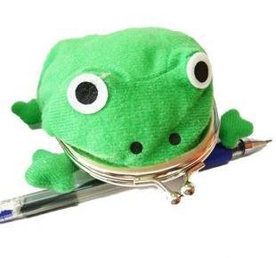 Cosplay Accessory Brand New NARUTO Frog Type Plush Coin Purse/Wallet -- Freeshipping