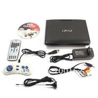 "7.5"" Twin Screen Car Headrest Portable DVD Player+built in DVB-T Freeview TV+USB DHL.EMS.FedEx"