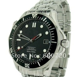 Free shipping watch.Professional factory customized.James Bond 007 Collectors Piece - 212.30.41.20.01.001 Watch(China (Mainland))