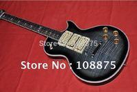 Free shipping Gray guitar In stock Solid body mahogany 2011 new 3 pickups