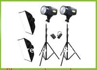 Wholesale studio flashlight photographic equipment: studio light kit: flash light Photography package