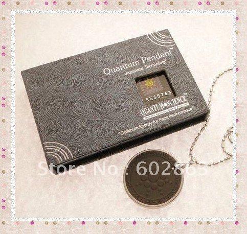 Xmas Gift! New Style Quantum Scalar Energy Pendant 20pcs/lot(China (Mainland))
