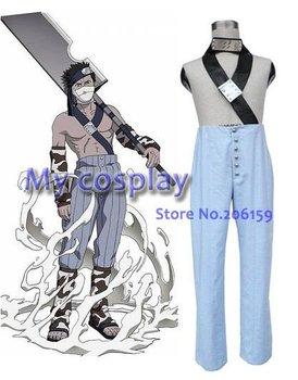 Anime Naruto Cosplay - Naruto Zabuza Men's Cosplay Costumes Freeshipping