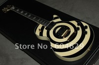 best Musical Instruments Custom meter yellow dark disc Electric Guitar.