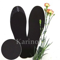 Free Shipping Wholesale Cuttable Bamboo Carbon Shoe-pad, Bamboo Charcoal Insoles