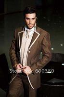 Wholesale cheap men's suits/Free Shipping fashion business suits,Party Dress suits/wedding tuxedo Bridegroom suit/Groom wear 051