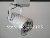 LED Lamp,LED track spotlight,LED track lamp,7x1w, Silver,black