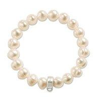 Free shipping by HK post! Wholesale crystal charm bracelet .fashion bracelet.925 sterling silver jewelry TH07
