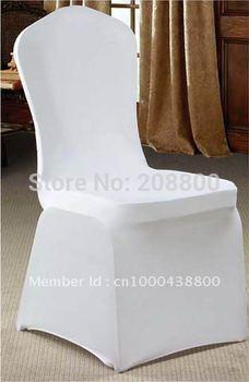 Free shipping/High quality white spandex chair cover/High quality white lycra chair cover
