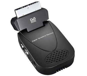 SEG-9010 Mini Scart Terrestrial Receiver Tv Tuner Dvb-t Freeview Receiver set top box