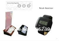table buzzer system,20pcs of table bell and 4 pcs of watch receiver