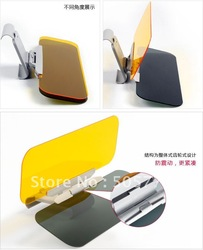 free shipping wholesale car sun visor /sun visor monitor /auto sun visor /car sun shade 6pcs/lot(China (Mainland))