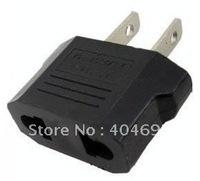 50pcs Conversion plug Travel Power Plug AC Plug US plug to EU / AU plug adapter