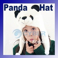 Шапка для девочек Korean Drill Flower And Love Dual Ball Girls Single Ayer Baby Hat Wool Cap