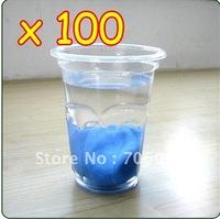 Wholesale Lots Of 100 Blue Auto Clay Bar / Car Detailing Poly Bars Magic No Retail Packaging Free Shipping