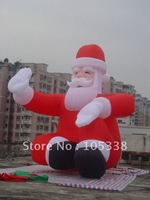 Santa clause,X-mas inflatable 2.4mH +blower wholesale/retail/factory price