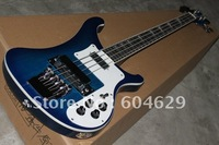 Musical Instruments New Arrival 4 Strings Deep Blue  solid Electric Guitar