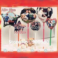 Photo Print  Balloons DIY kit 28cm A3 paper 50 PCS/LOT