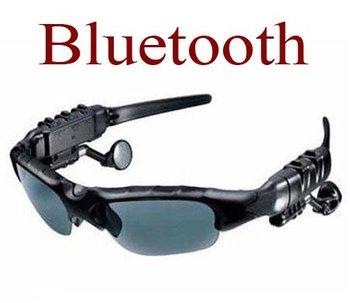 sunglasses with bluetooth Headset headphone earphone Sports Sun Glass - wholesale 9 pcs per lot