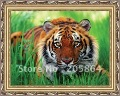 Free shipping hot sales tiger head,new material cushion cover,picture frame
