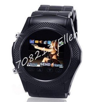 2011 New Arrival!! W960 1.3 inch touch screen Cell Phone Watch with Bluetooth,Camera MP3/MP4 Wrist Cell Watch Mobile Phone(China (Mainland))