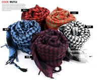 20pcs/lot 2011+Free shipping+Qiu dong thousand bird's large hood/Shawls scarf/Long money grid lovers collar