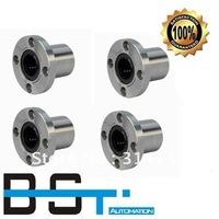 Free shipping for 10pcs LMF10UU Flange Linear Motion Bearing / Flange Linear Bush for 10mm Linear round shaft rail