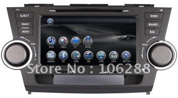 Toyota Highlander Car Multimedia player/   Toyota Highlander Car DVD GPS/  Toyota Highlander Car DVD player