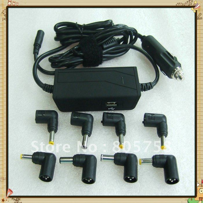 Mains & Car Charger Adapter Smart Tips For Laptop New(China (Mainland))