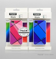 Free shipping 25pcs/lot , High Quality Sample Desgin case for iphone 4 , Plastic Case For Iphone With Retail Packing