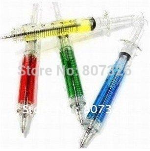 best Christmas gift,crazy hot nurse shall syringe / needle pen / ball pen,Korea Stationery,wholesale 1lot/10pcs