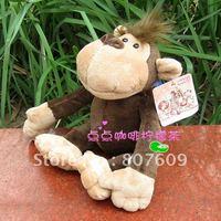 "Wholesale - Forrest &Grassland Animals plush toys doll toy Monkey orangutan 10PCS/Set 10"" lovely hotsale"