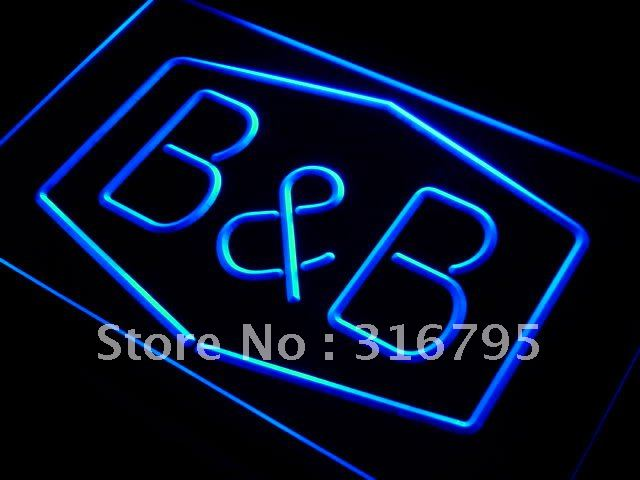 j025-b Bed and breakfast B & B Room Neon Light Sign(China (Mainland))