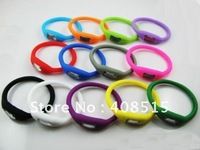 Free Shipping digital sport with plastics watch  and the Watchband for  rubber  material 200pcs/lot