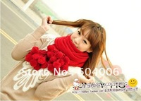 Hot New autumn winter Korea cute bayberry ball golf ball scarf tassel large shawl scarf women Wholesale+ free shipping