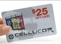 1000pcs custom VIP PVC card printing membership loyalty cards member magnetic strip plastic card
