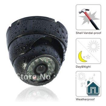 Surveillance CMOS Color Dome Video CCTV Security Camera Waterproof Outdoor T03