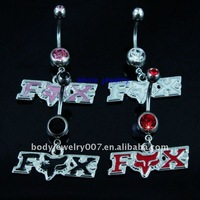 body piercing jewelry,navel belly button rings, fashion design,(10pcs/lot), JFB7225