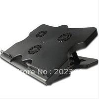 Brand New wholesales 20pcs/lots 4 PORTS USB HUB LAPTOP COOLER COOLING PAD 3 FAN