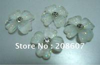 Nail beauty Lovely Flowers 10mm Nail Jewelry/ Nail Salons/Nail Design /Nail Decoration / Nail Art/Manicure