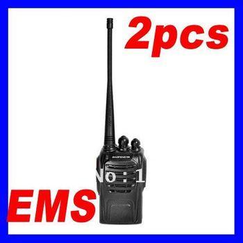 Walkie Talkie Two Way Radio BAOFENG BF-888s Transceiver Handheld Interphone Free Express 2pcs/lot