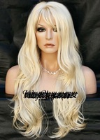 2012 newest gold Bending of holiday hair wig