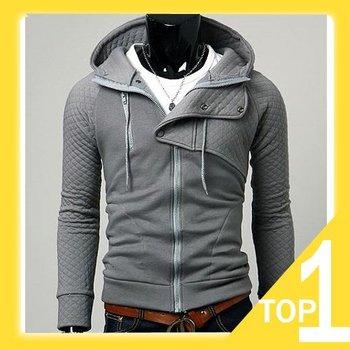 Free shipping 2012 New Men's Jacket Hoodie Coat Y1647