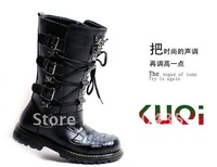 11 sell like hot cakes punk skeleton han edition boots man fashion boots tall canister boots man skin boots riding boots male bo