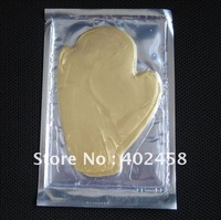 Hot Wholesale 50psc/lot Gold Collagen Crystal hand Mask /hand care product Free Shipping