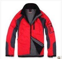 GOOD Quality Outdoor Windbreaker Nano Sphere Men Jacket Color:red