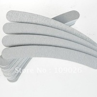 100pcs Professional Grinding Tools Nail Files Buffer Buckling Slim Crescent Grit Sandpaper 100/180 Nail Tools